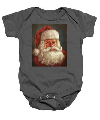 Santa 2017 Baby Onesie