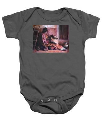 Santa Clara Potter Baby Onesie