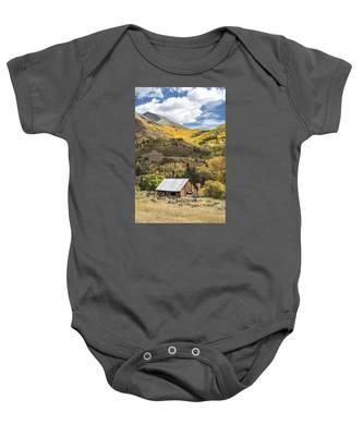 Shack With Relics Baby Onesie
