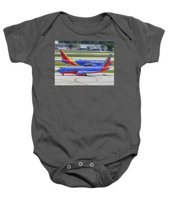 Baby Onesie featuring the photograph Southwest By Southwest by Dart and Suze Humeston