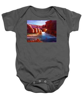 Spirits Of The River Baby Onesie