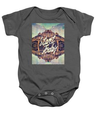 Start Today Classical French Architecture Paris France Baby Onesie