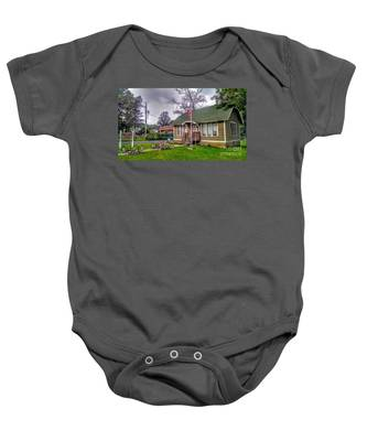 The Old Library At Beavertown Baby Onesie