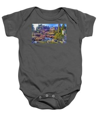 The Pond At Peddler's Village Baby Onesie