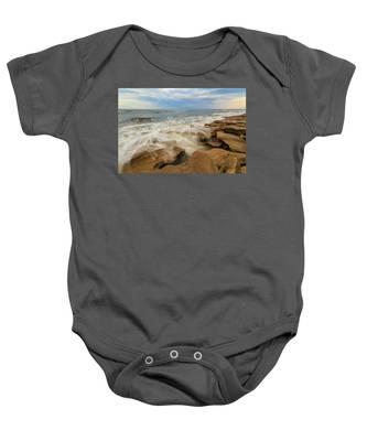 Tidal Flow Baby Onesie