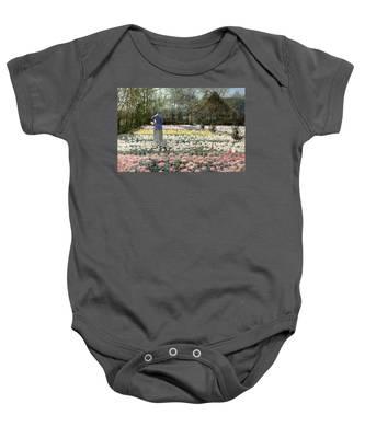 Tulip Culture Baby Onesie