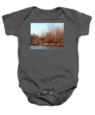 Northeast River Banks Baby Onesie