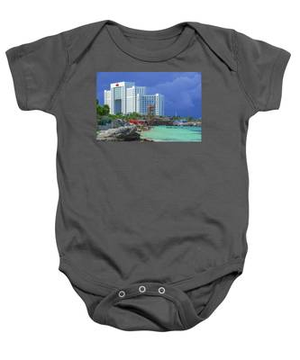 Beach Life In Cancun Baby Onesie