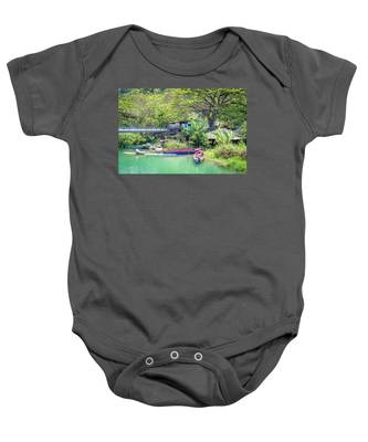Boat And Rafting Tours Baby Onesie