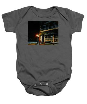 Corner Light Baby Onesie