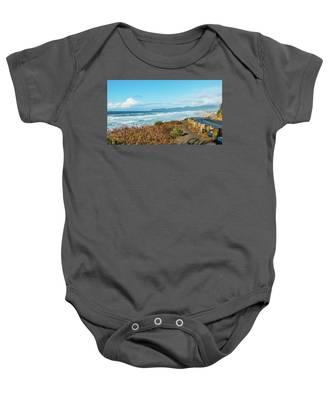 Driving The Oregon Coast Baby Onesie