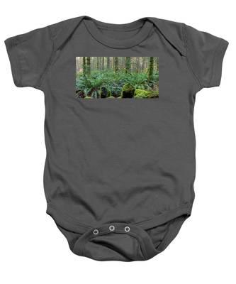 Forest Floor Baby Onesie