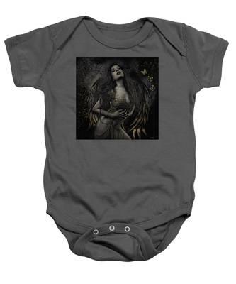 Gothic Angel, Aurelia Baby Onesie