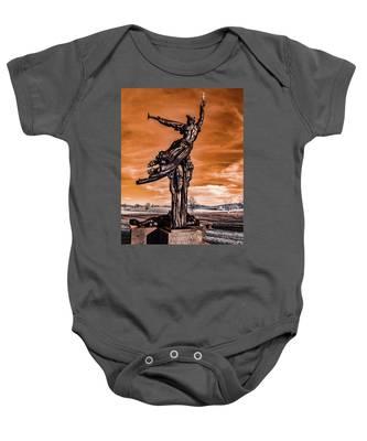 Louisiana Monument Baby Onesie