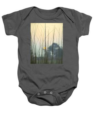 Winter Landscapes Baby Onesies