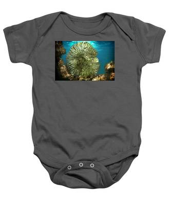 Ocean With Its Life Underground Baby Onesie
