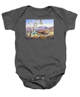 Pilbara, Hamersley Range, Western Australia. Baby Onesie