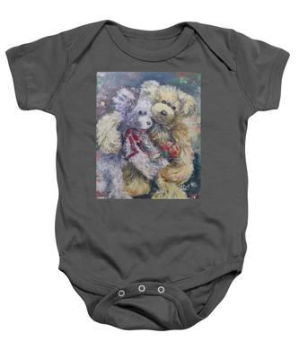 Teddy Bear Honeymooon Baby Onesie