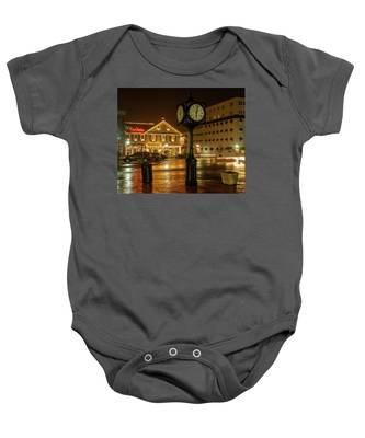 Time For Christmas Baby Onesie