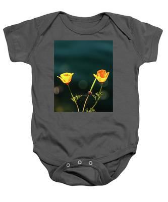 Twice  Yellow Baby Onesie