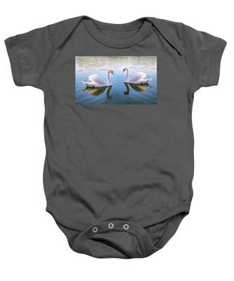 Two Of Them Baby Onesie