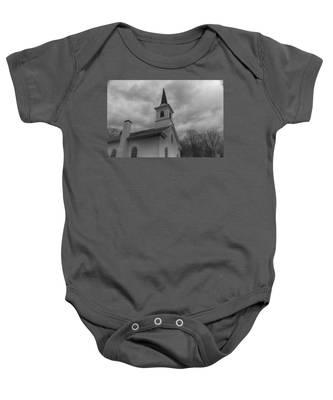 Waterloo United Methodist Church - Detail Baby Onesie