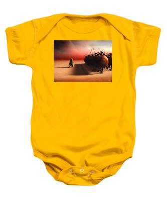 Out Of Egypt Baby Onesie