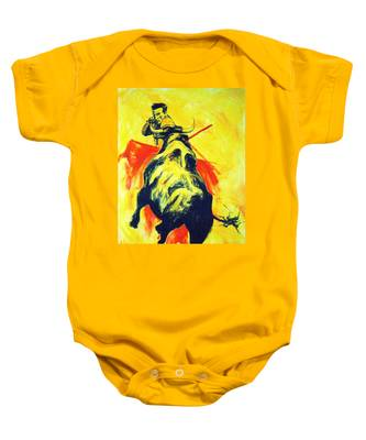 Spanish Bullfight Baby Onesie