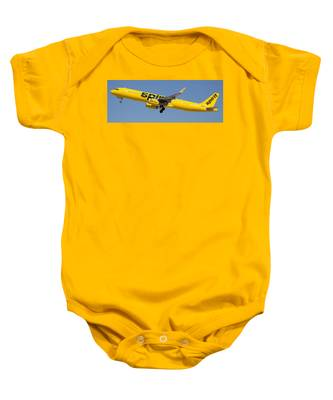 Baby Onesie featuring the photograph Spirit Airline by Dart and Suze Humeston