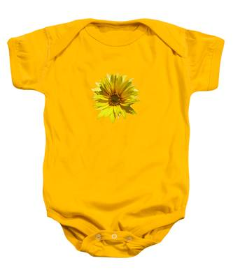 A Vase Of Sunflowers Baby Onesie