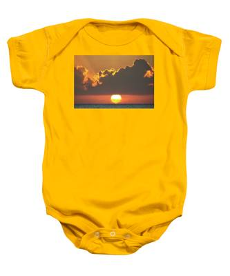 Ball Of Fire Baby Onesie