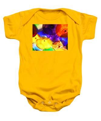 Celestial Glass 3 Baby Onesie