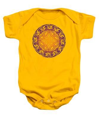 Celtic Shield Baby Onesie