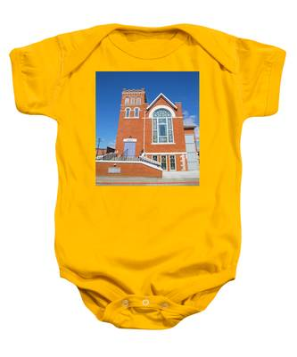 Baby Onesie featuring the photograph Church In Emmett Idaho by Dart and Suze Humeston