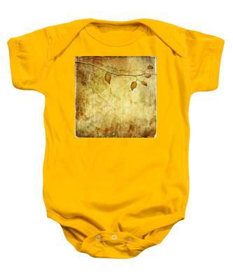 Golden Branch Of Hope  Baby Onesie