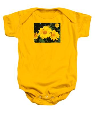 Happy Yellow Baby Onesie