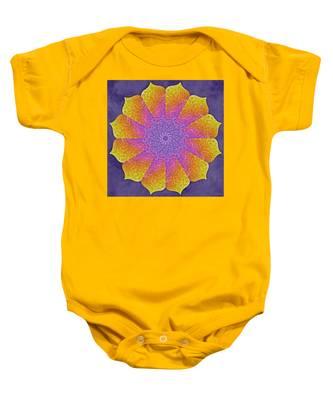 Baby Onesie featuring the digital art Mothers Womb by Derek Gedney