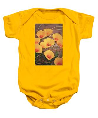 Poppies On Mount Lemmon Baby Onesie