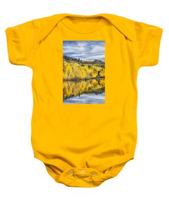 Reflection With Ophir Needles I Baby Onesie