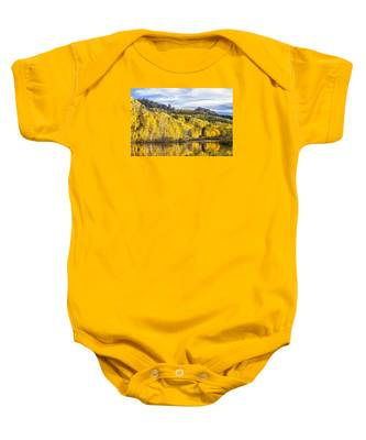 Reflection With Ophir Needles II Baby Onesie