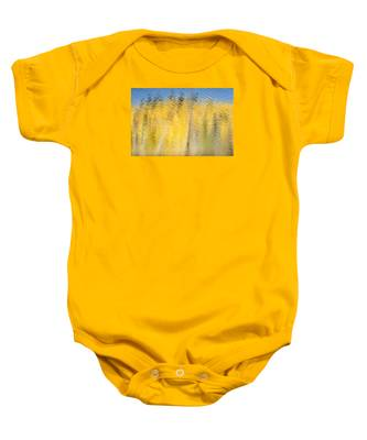Striking Gold Baby Onesie