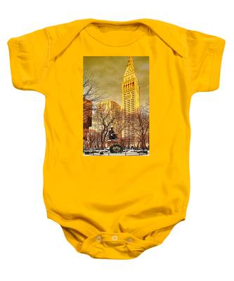 Ten Past Four At Madison Square Park Baby Onesie