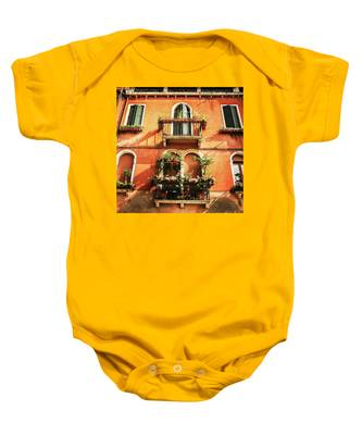 Venetian Windows Baby Onesie