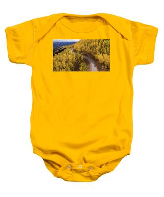 Winding Through Fall Baby Onesie