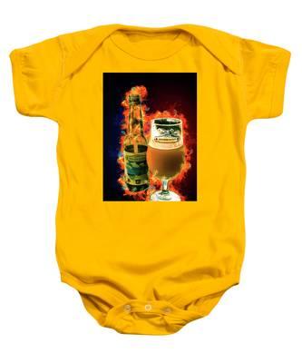 Bonaire Blond Baby Onesie