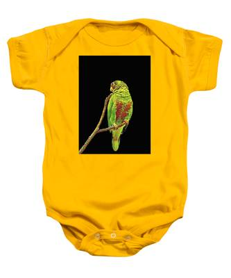 Colorful Parrot Baby Onesie