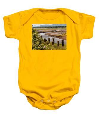 Courtenay River Estuary Baby Onesie
