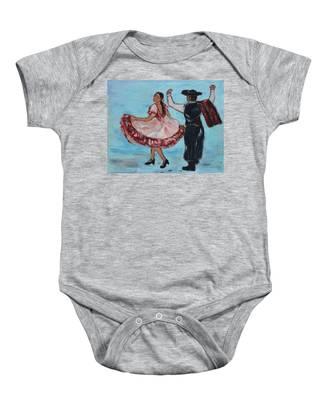 Argentinian Folk Dance Baby Onesie