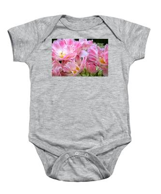 A Crowd Of Tulips Baby Onesie