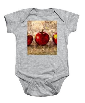 Apple Baby Onesie